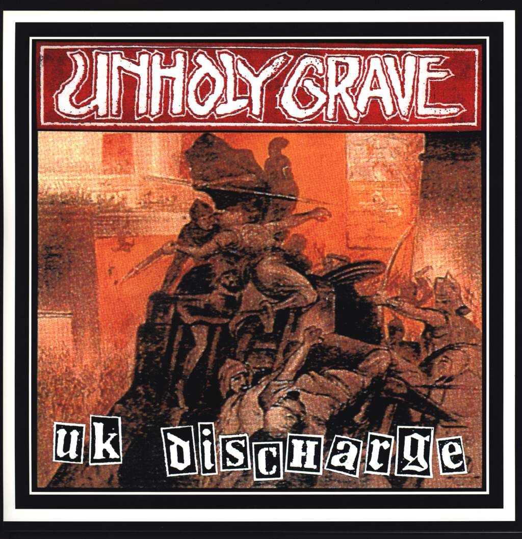Unholy Grave: UK Discharge, LP (Vinyl)
