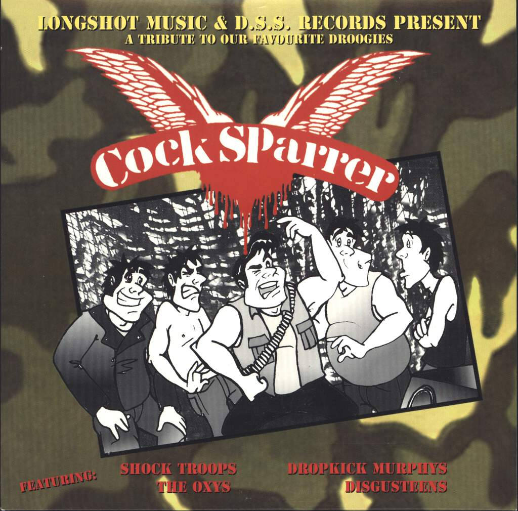 "Various: Cock Sparrer: A Tribute To Our Favorite Droogies, 7"" Single (Vinyl)"