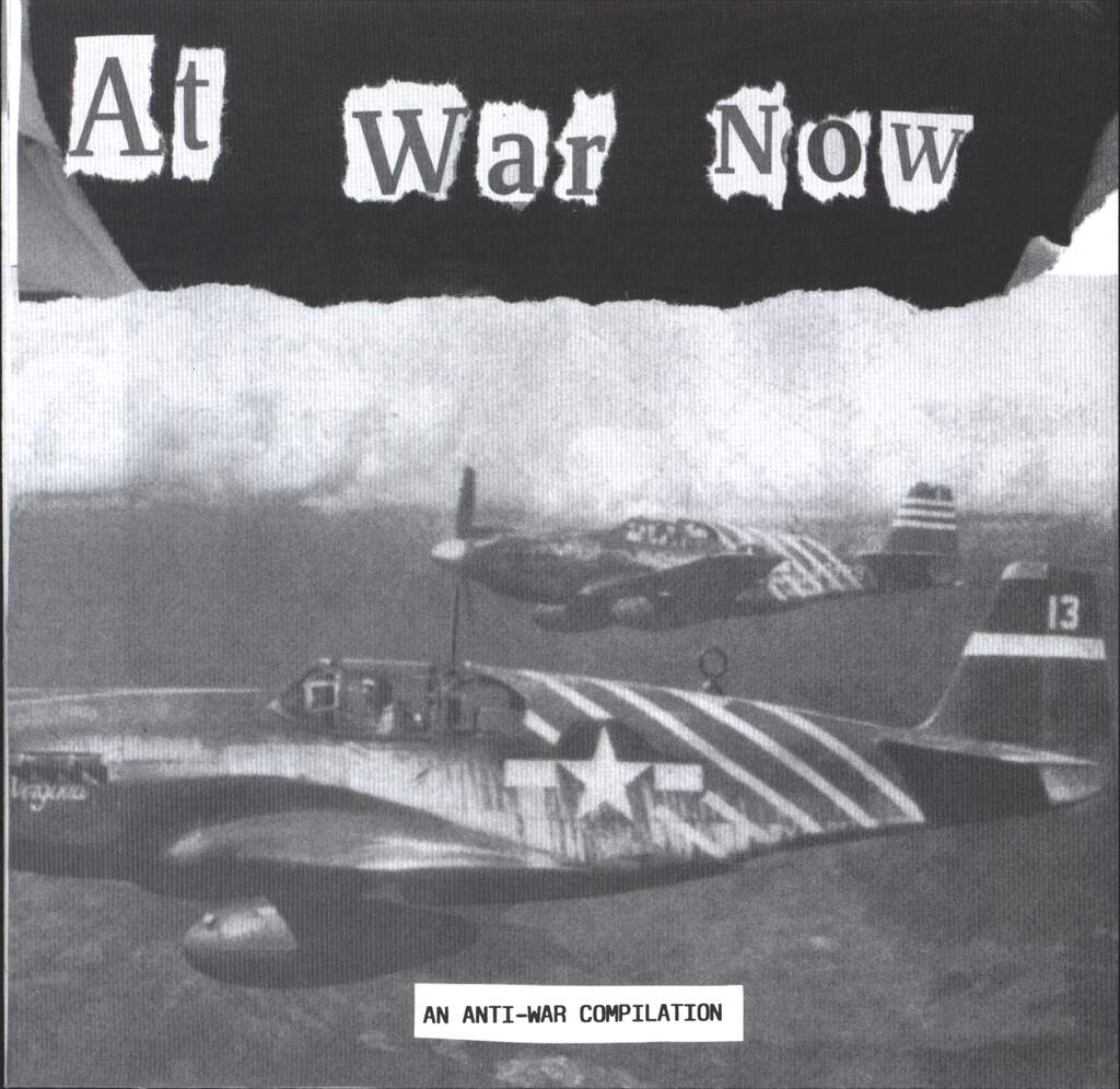 "Various: At War Now - An Anti-War Compilation, 7"" Single (Vinyl)"
