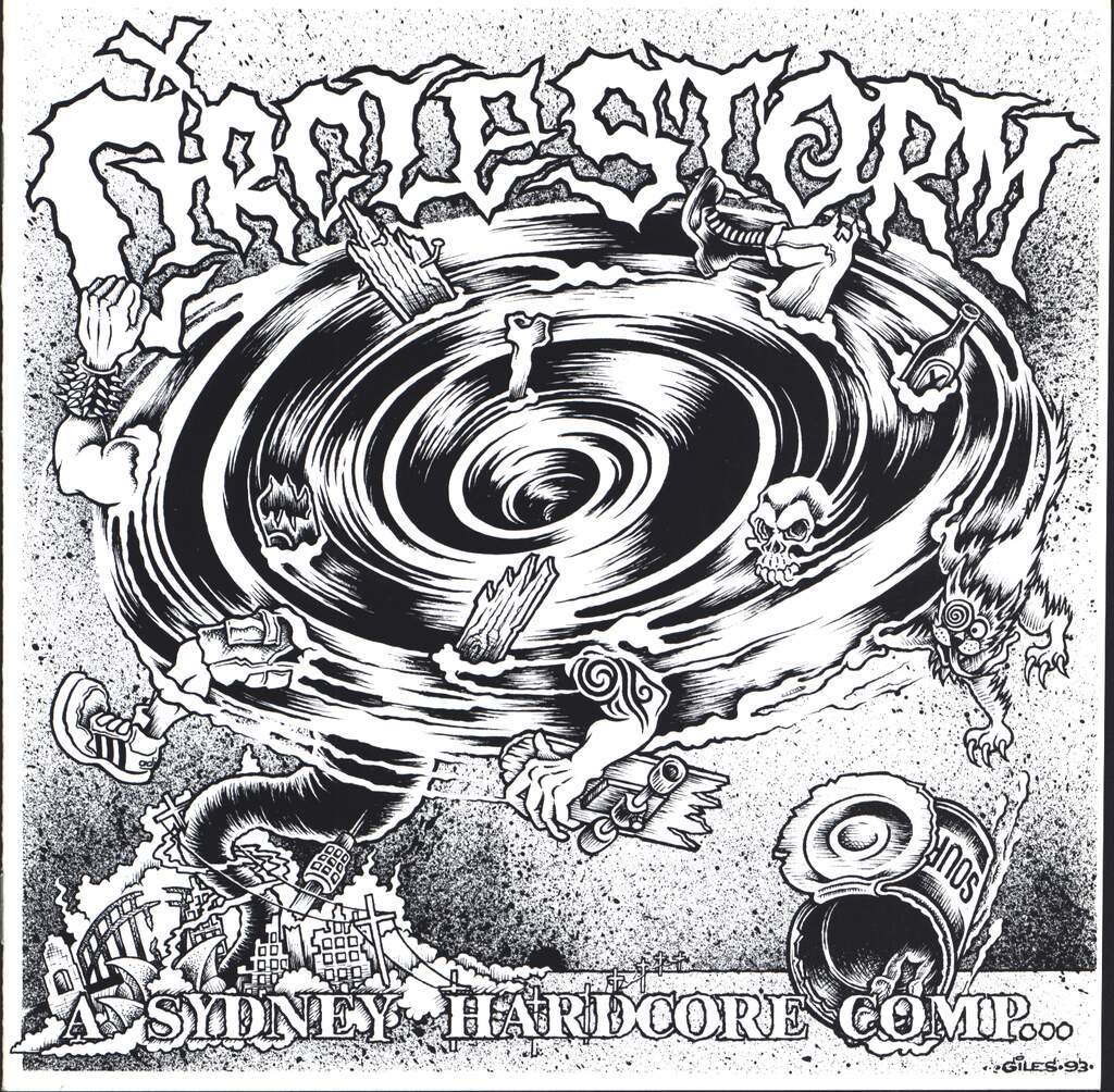 "Various: Circle Storm (A Sydney Hardcore Comp...), 7"" Single (Vinyl)"