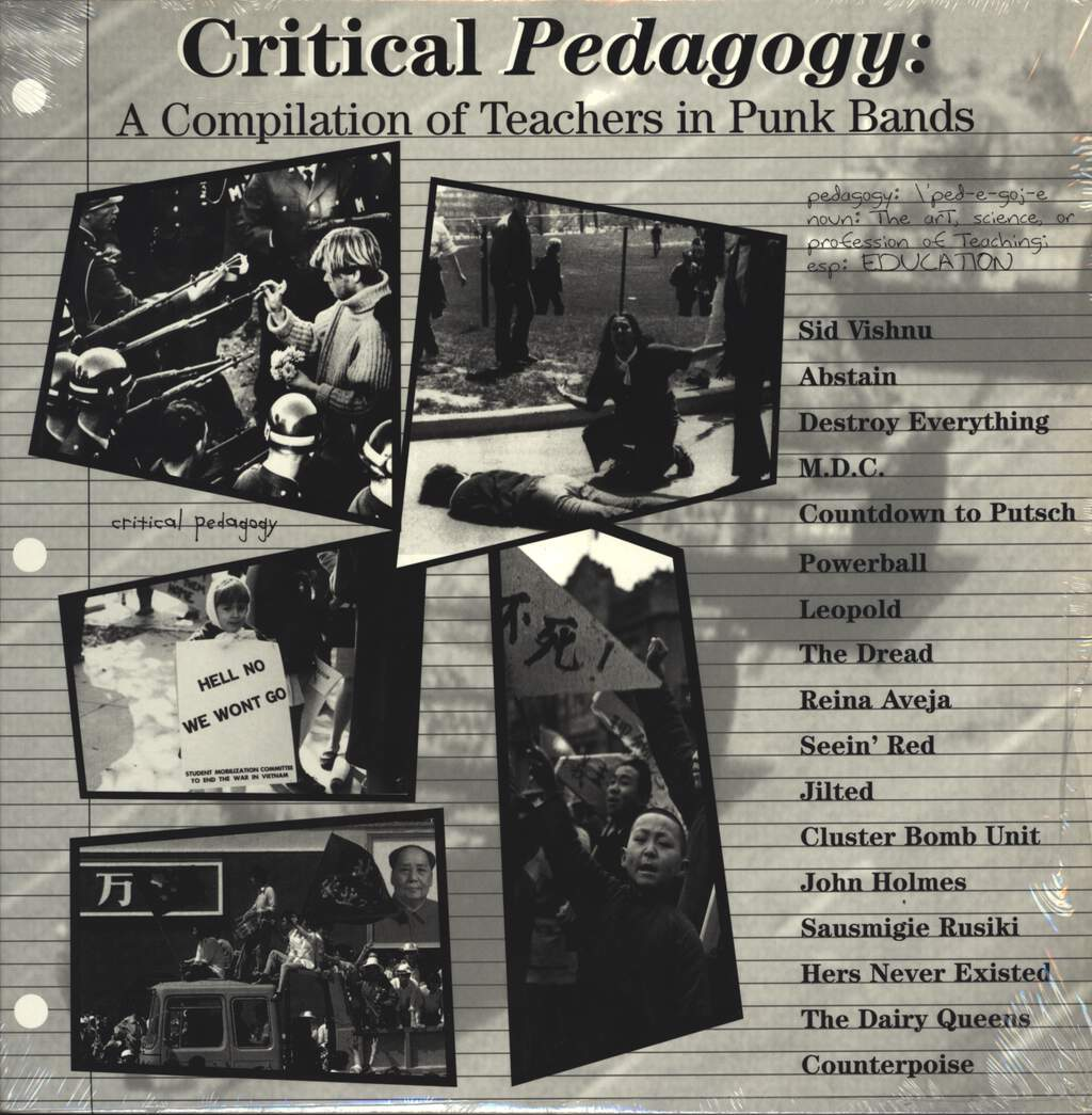 Various: Critical Pedagogy: A Compilation Of Teachers In Punk Bands, LP (Vinyl)