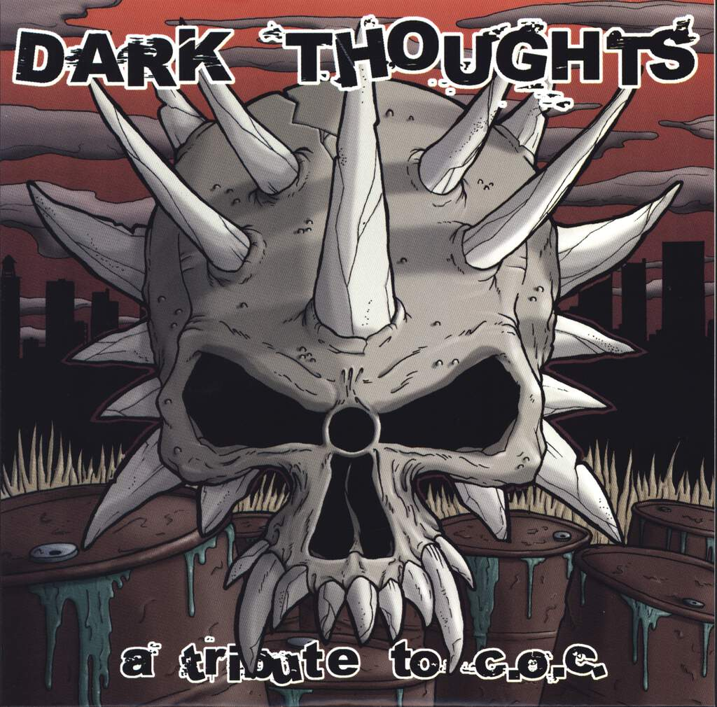 "Various: Dark Thoughts (A Tribute To C.O.C.), 7"" Single (Vinyl)"
