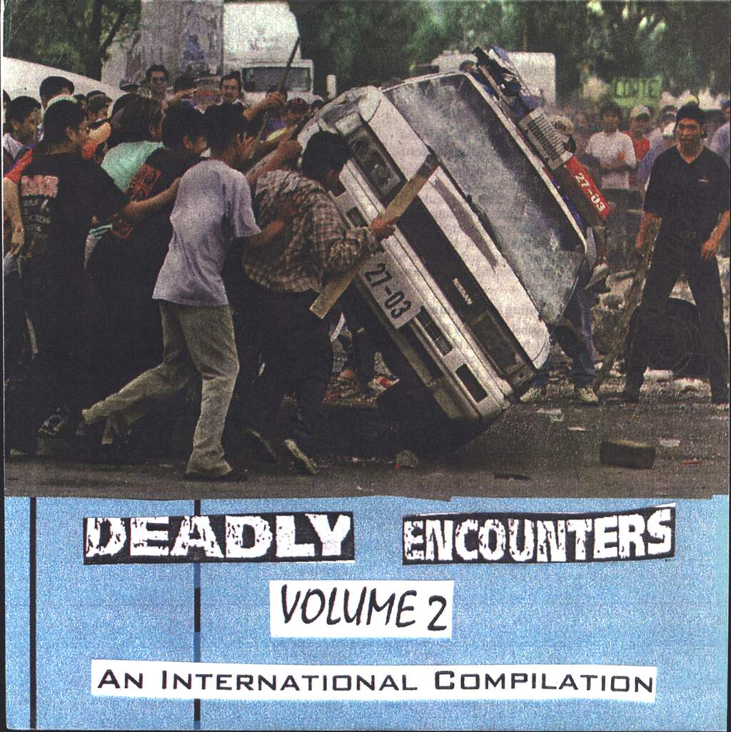 "Various: Deadly Encounters Volume 2 - An International Compilation, 7"" Single (Vinyl)"