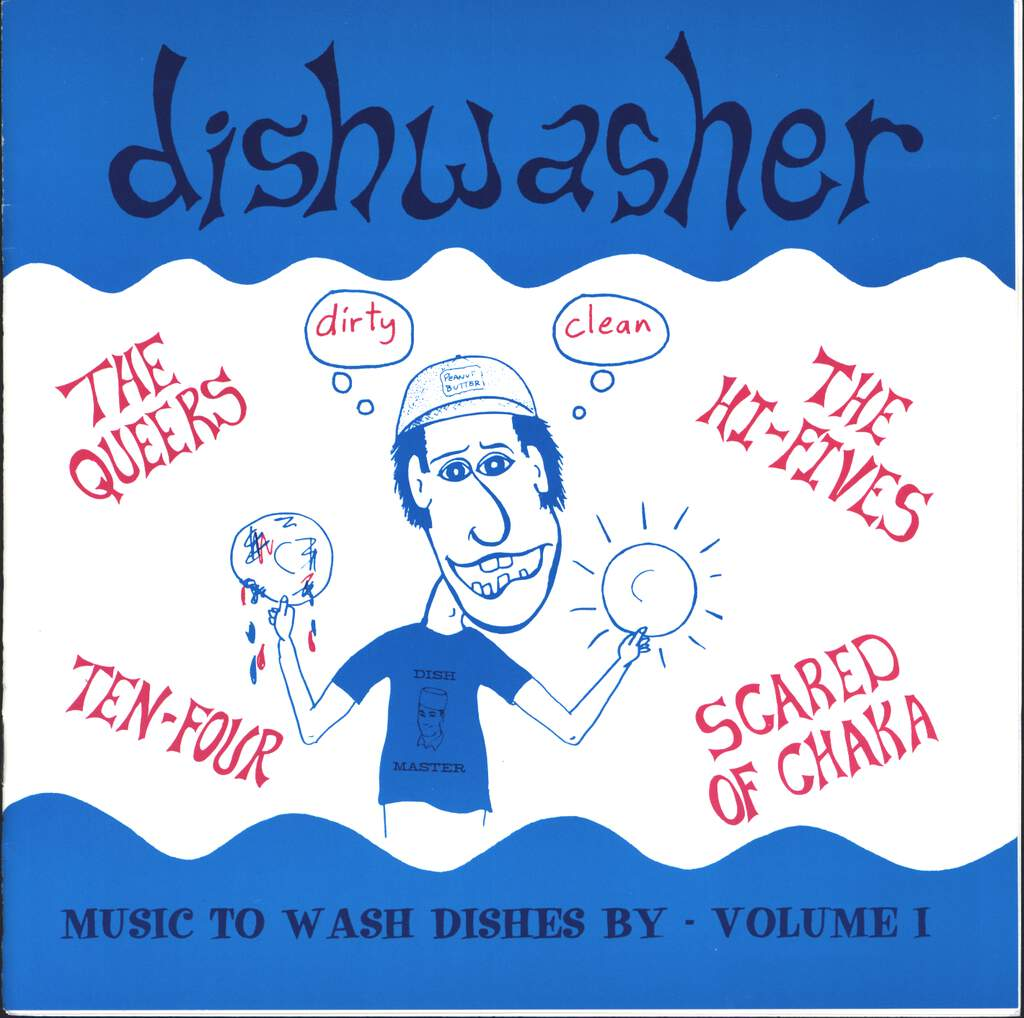"Various: Dishwasher - Music To Wash Dishes By - Volume 1, 7"" Single (Vinyl)"
