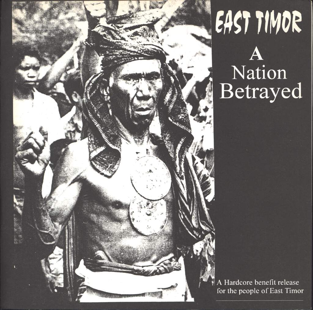 "Various: East Timor A Nation Betrayed, 7"" Single (Vinyl)"