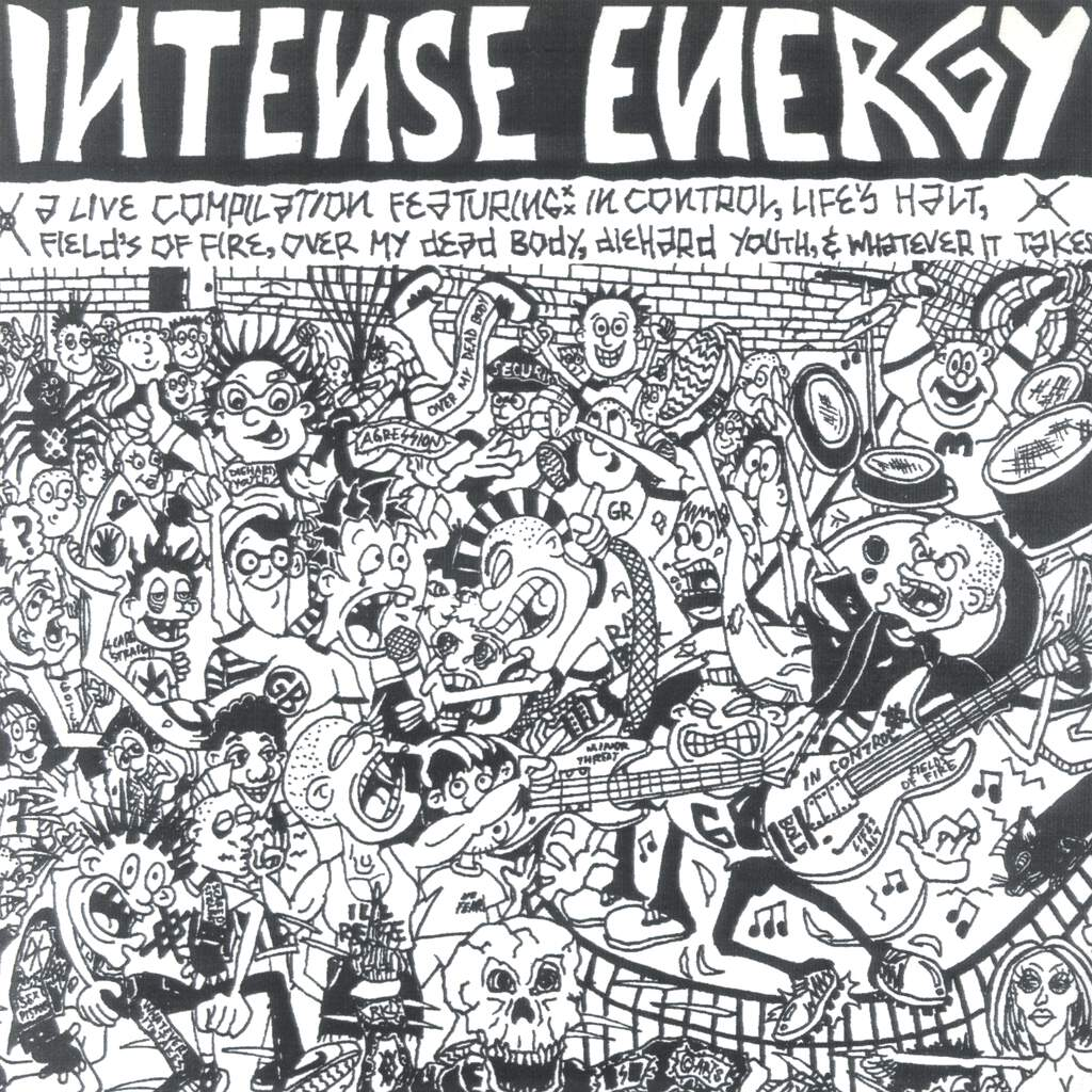 "Various: Intense Energy, 7"" Single (Vinyl)"