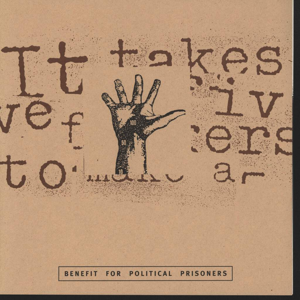 "Various: It Takes Five Fingers To Make A Fist, 7"" Single (Vinyl)"