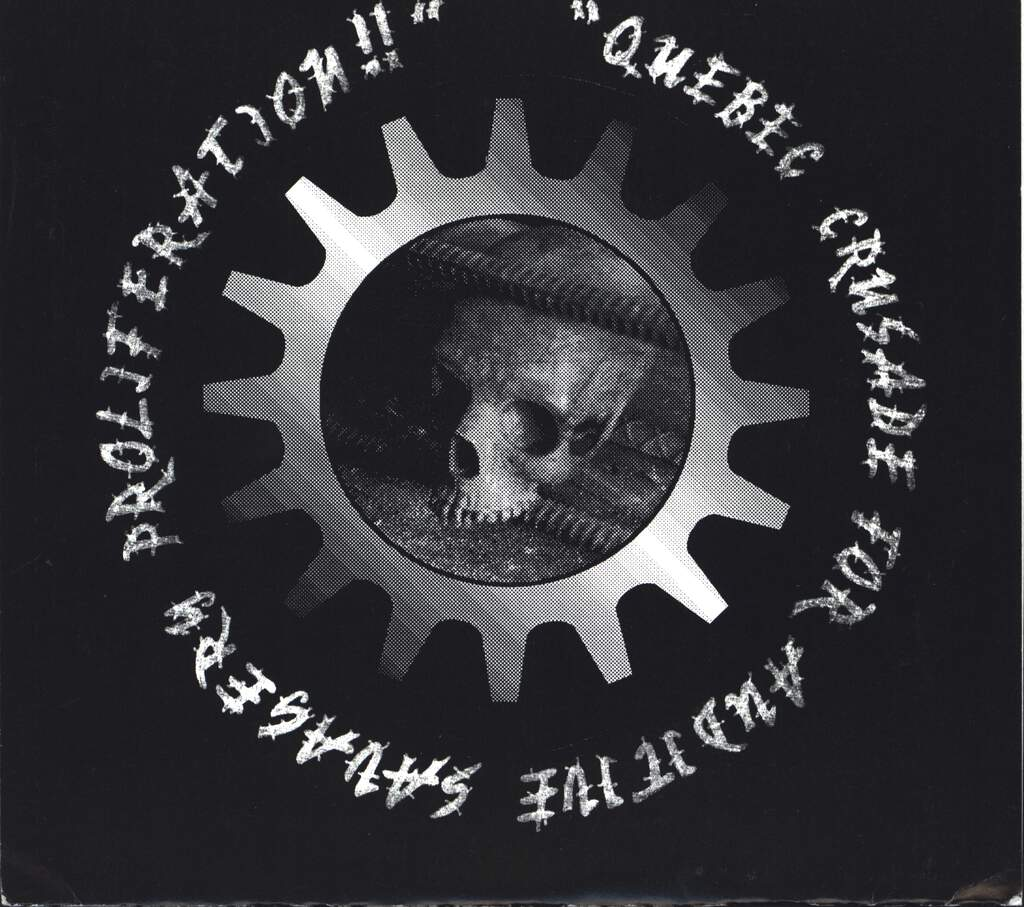 "Various: Quebec Crusade For Auditive Savagery Proliferation!!, 7"" Single (Vinyl)"