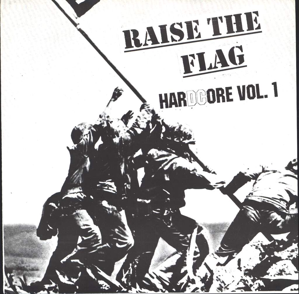 "Various: Raise The Flag; HarDCore Vol. 1, 7"" Single (Vinyl)"