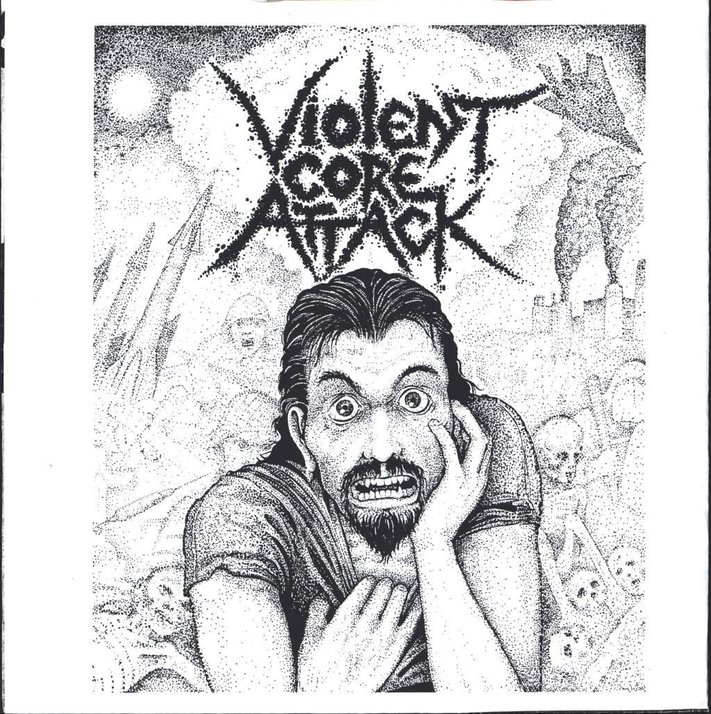 "Various: Violent Core Attack, 7"" Single (Vinyl)"