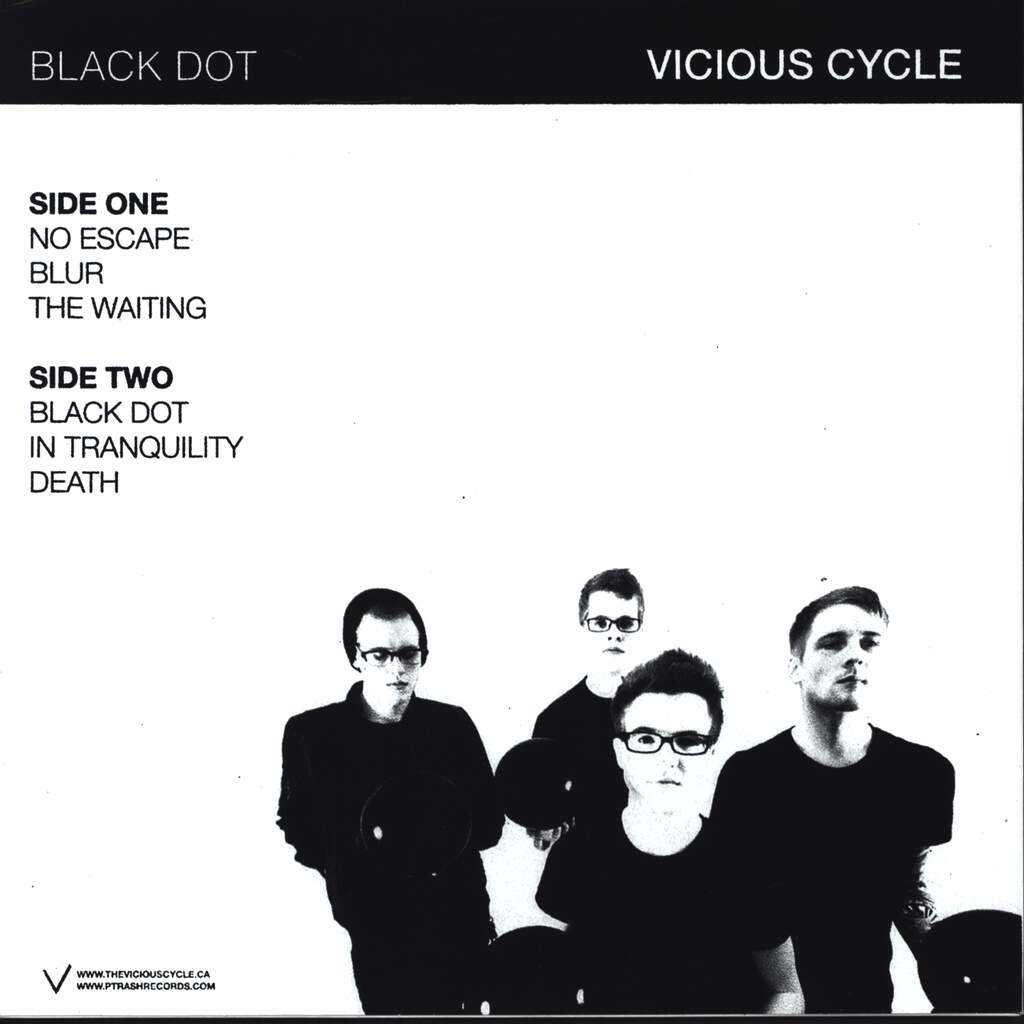"Vicious Cycle: Black Dot, 10"" Vinyl EP"