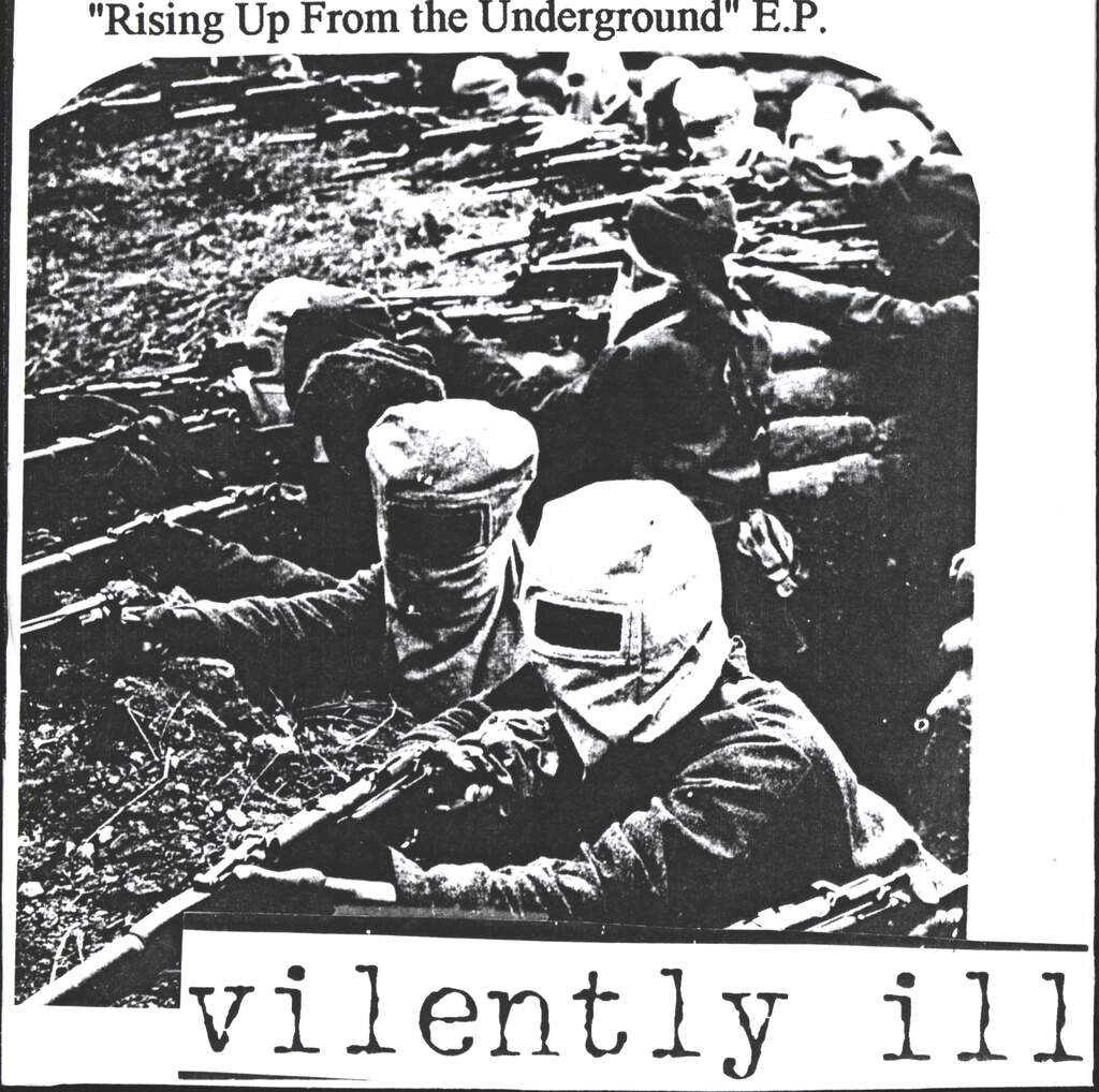 "Vilently Ill: Rising Up From The Underground E.P., 7"" Single (Vinyl)"