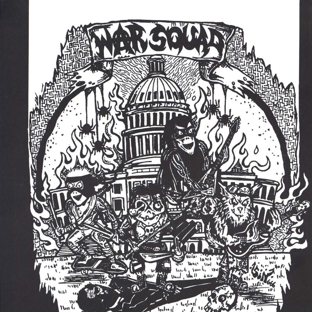 "War Squad: Warsquad, 7"" Single (Vinyl)"