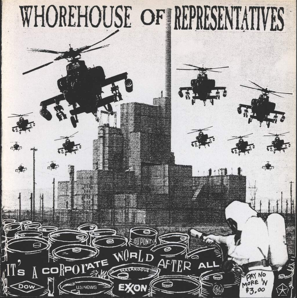 "Whorehouse Of Representatives: It's A Corporate World After All, 7"" Single (Vinyl)"