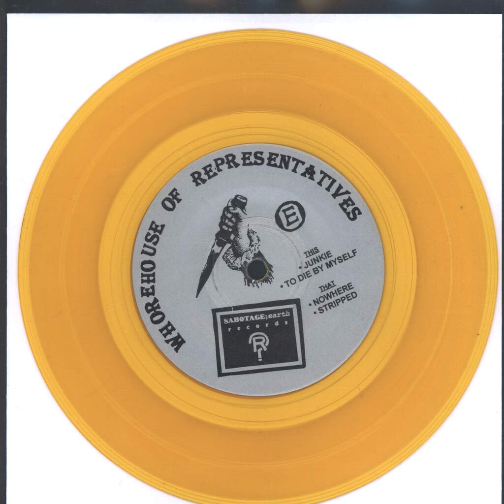 "Whorehouse Of Representatives: Your Alcohol Taxes At Work, 7"" Single (Vinyl)"