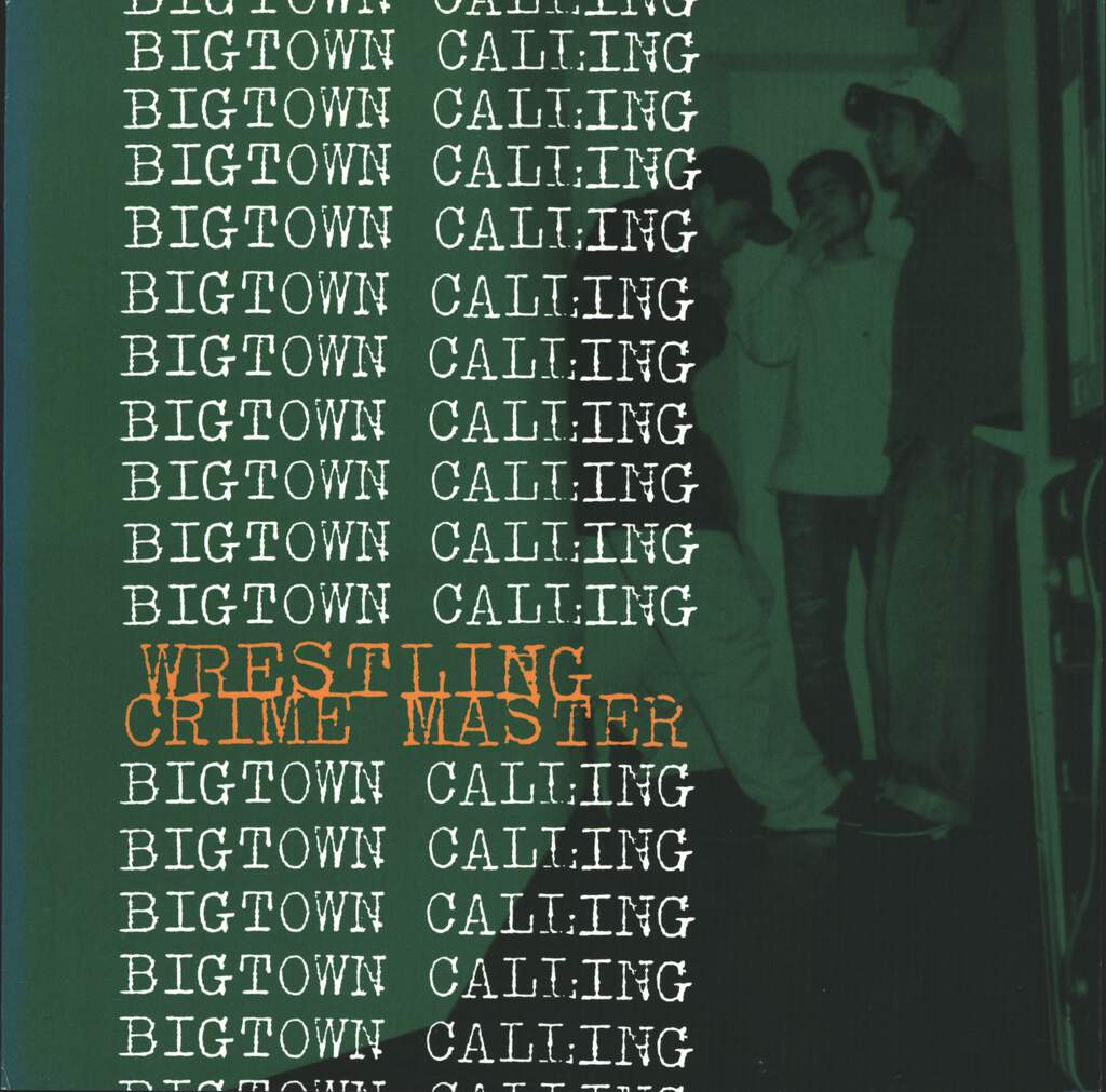 "Wrestling Crime Master: Bigtown Calling, 7"" Single (Vinyl)"