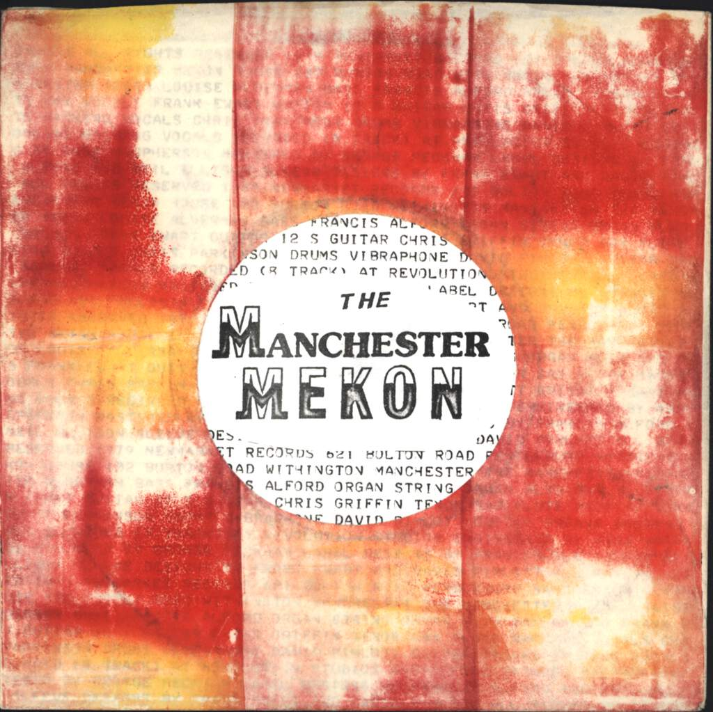 "Manchester Mekon: No Forgetting, 7"" Single (Vinyl)"