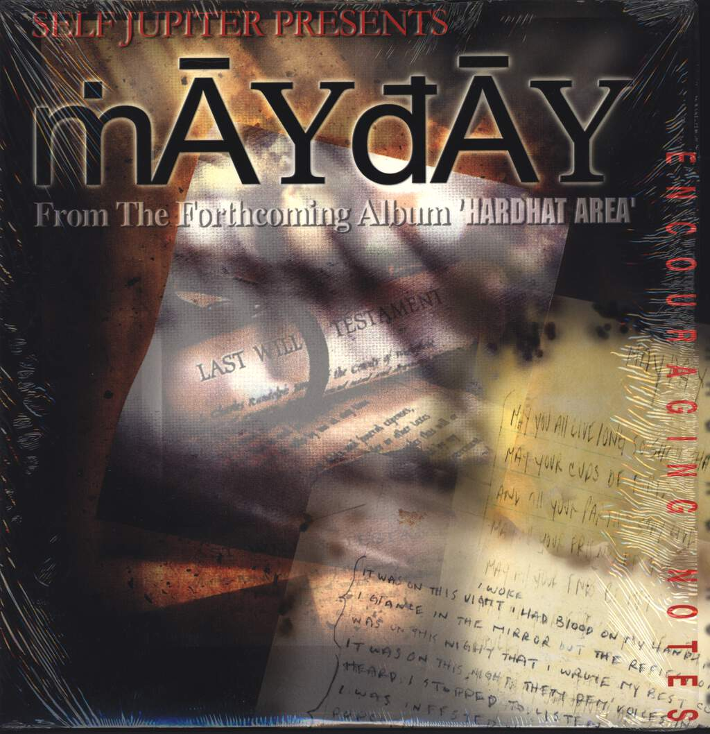 "Self Jupiter: Mayday / It Was On This Night, 12"" Maxi Single (Vinyl)"