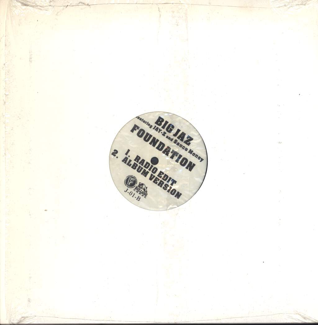 "Big Jaz: Waitin' / Foundation, 12"" Maxi Single (Vinyl)"