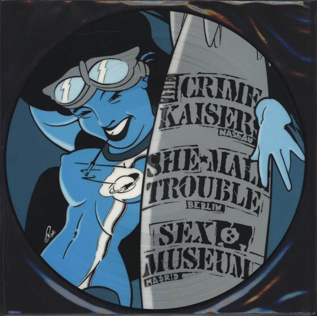 "She-Male Trouble: Trans Gender Rocks Vol 2, 10"" Vinyl EP"