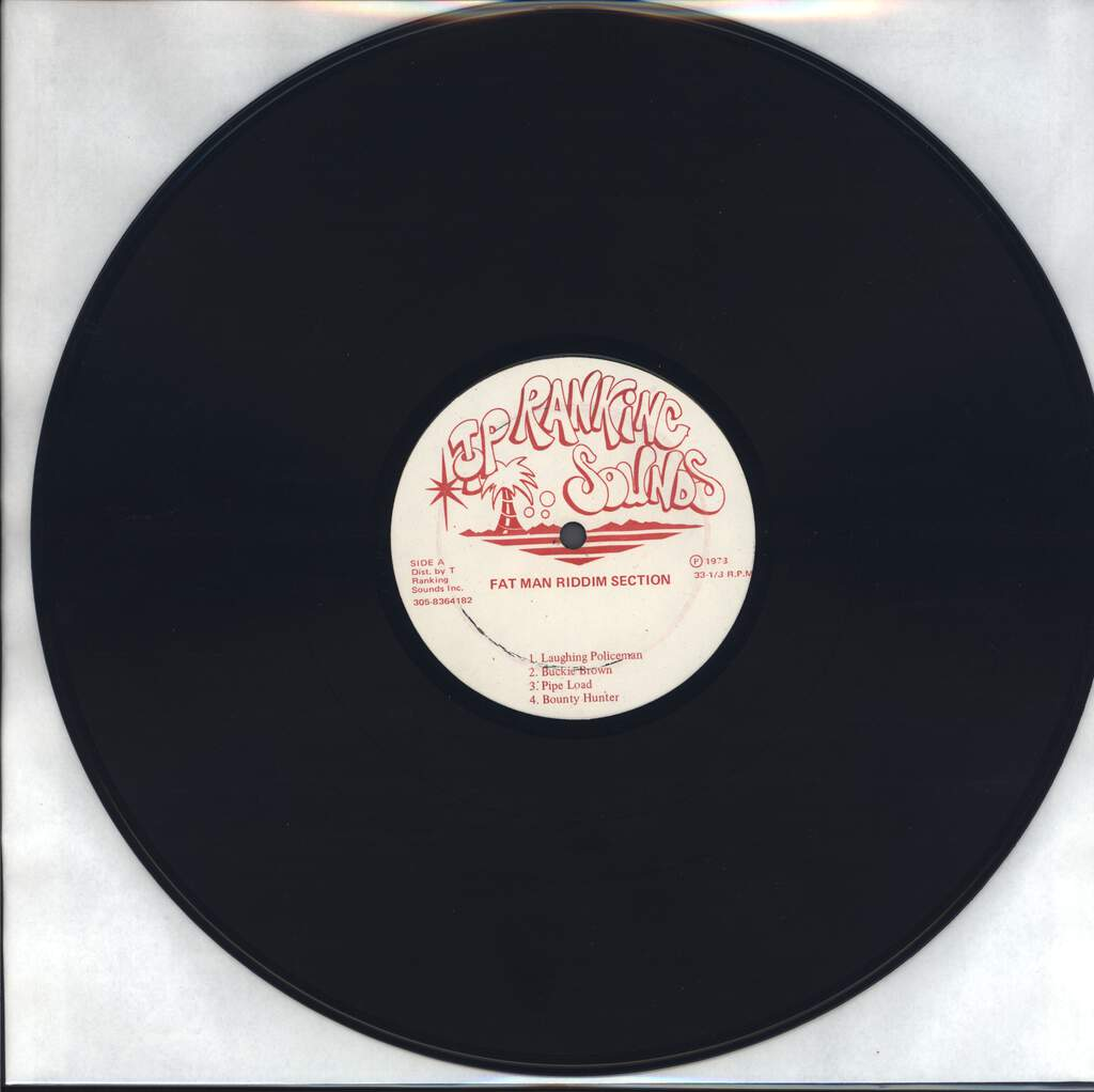 Fatman Riddim Section: Fatman Riddim Section Featuring Touter, LP (Vinyl)