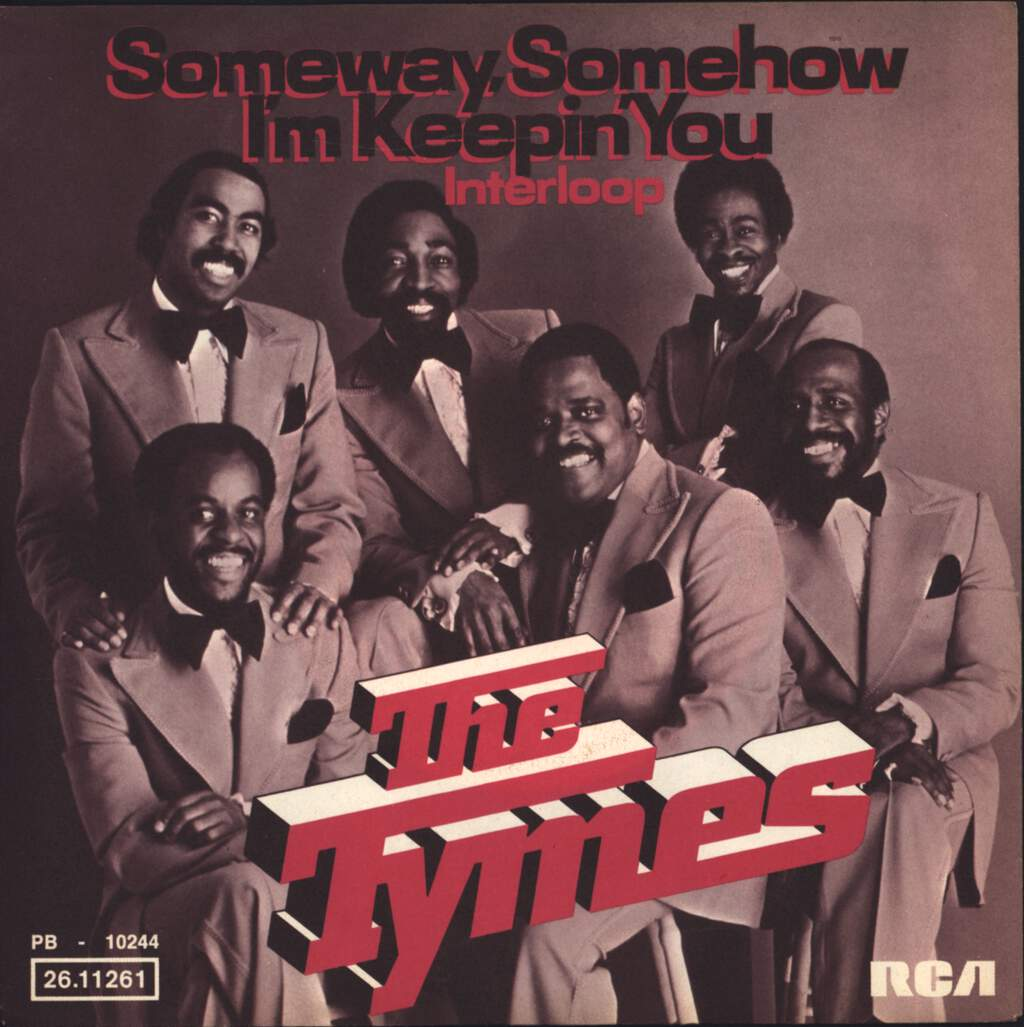 "The Tymes: Someway, Somehow I'm Keepin' You / Interloop, 7"" Single (Vinyl)"