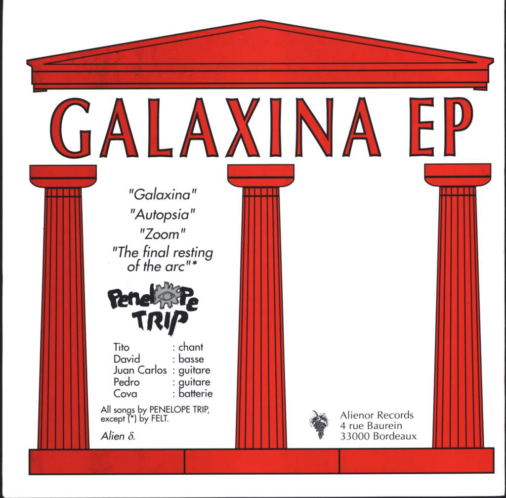 "Penelope Trip: Galaxina EP, 7"" Single (Vinyl)"