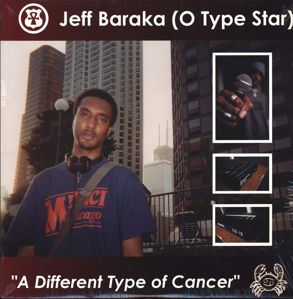 "Jeff Baraka: A Different Type Of Cancer, 12"" Maxi Single (Vinyl)"