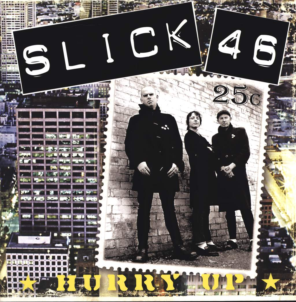 "Slick 46: Hurry Up, 12"" Maxi Single (Vinyl)"