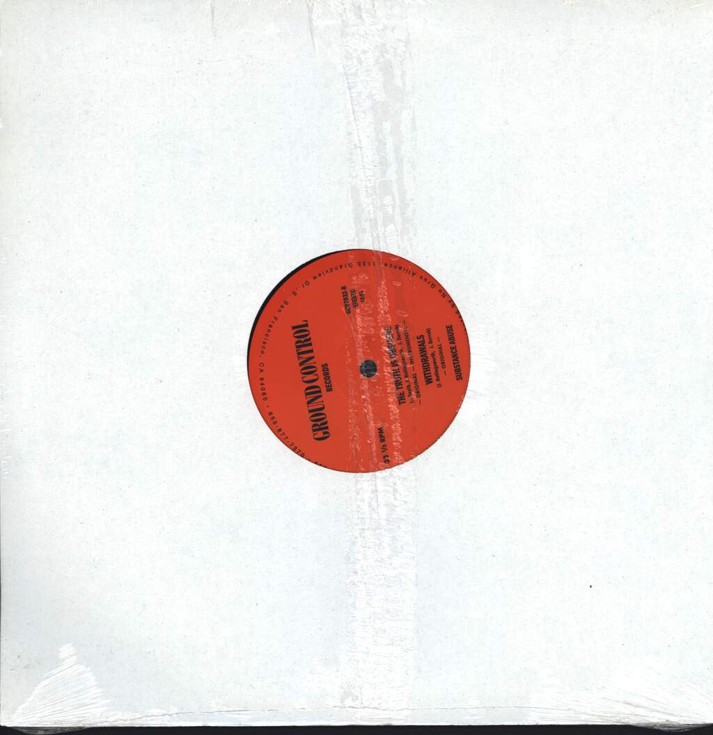 "Substance Abuse: What The F**k You Rhymin' For?, 12"" Maxi Single (Vinyl)"
