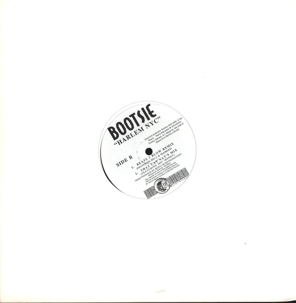 "Bootsie: Harlem NYC, 12"" Maxi Single (Vinyl)"