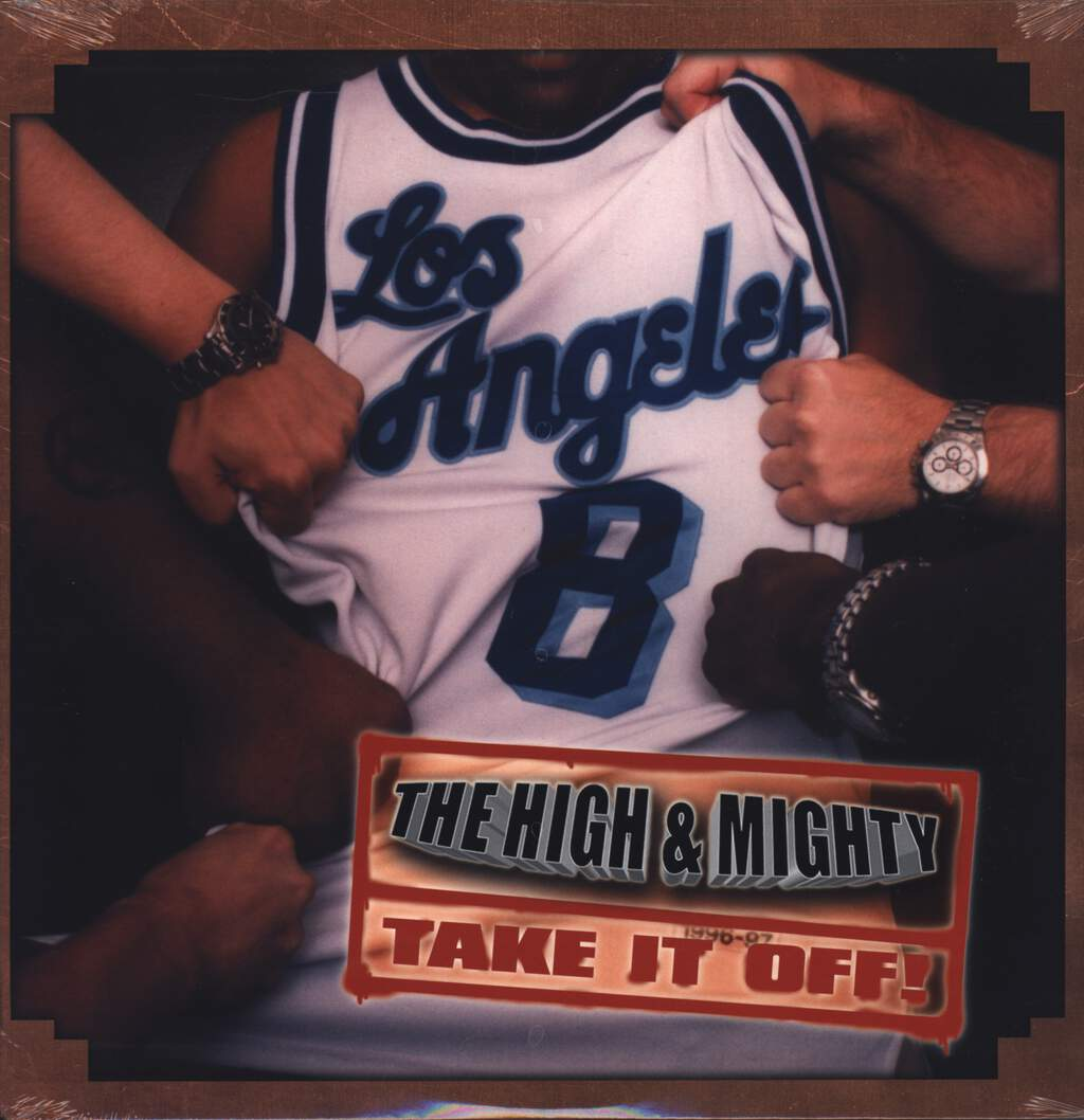 "The High & Mighty: Take It Off, 12"" Maxi Single (Vinyl)"