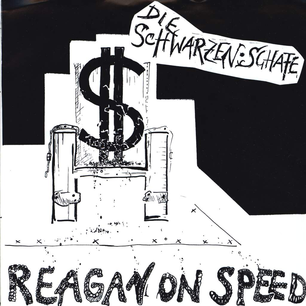 "Die Schwarzen Schafe: Reagan On Speed, 7"" Single (Vinyl)"