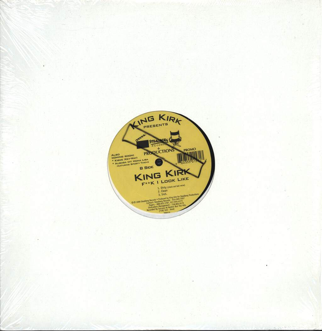 "Sporty Thievz: No Pigeonz (Remix) / F**k I Look Like, 12"" Maxi Single (Vinyl)"
