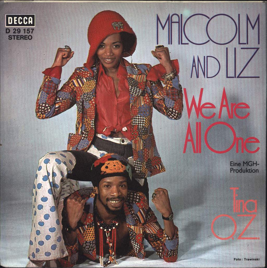 "Malcolm Magaron: We Are All One / Tina O. Z., 7"" Single (Vinyl)"