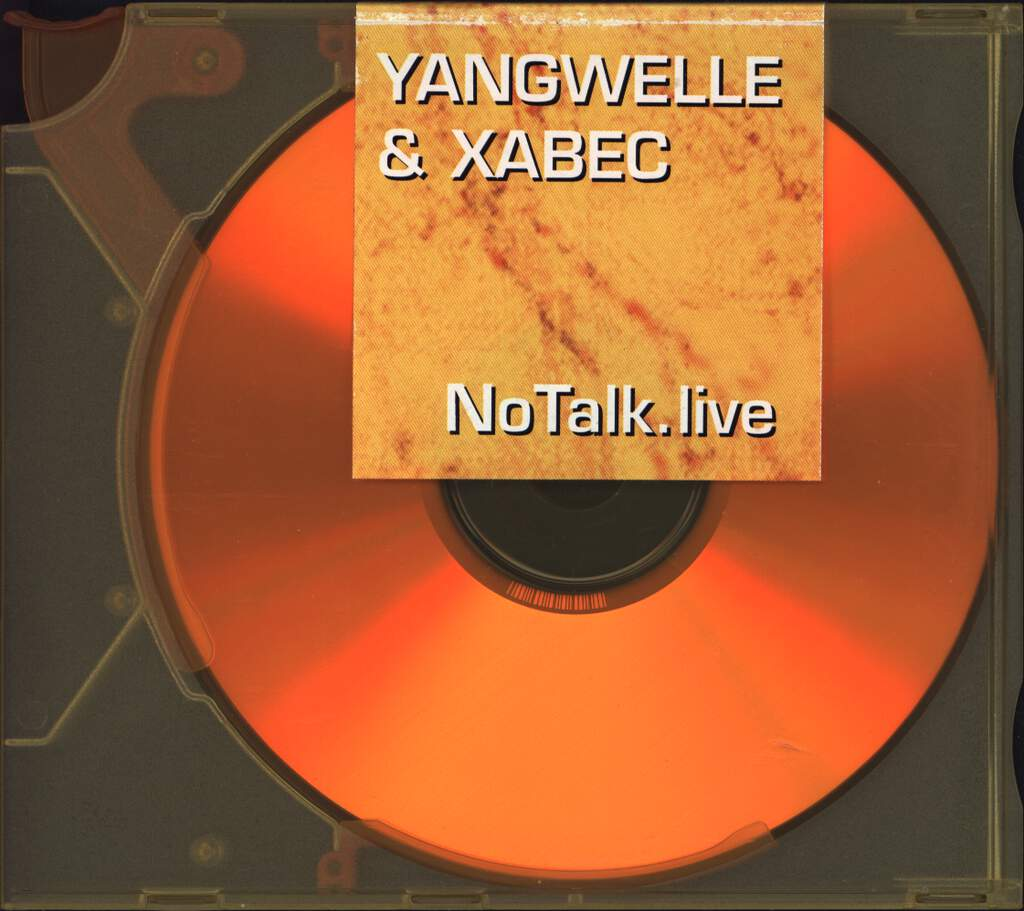 Yangwelle: No Talk Live, CD