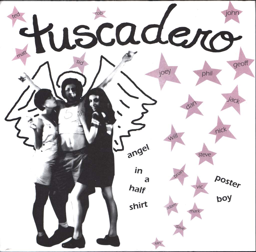 "Tuscadero: Angel In A Half Shirt / Poster Boy, 7"" Single (Vinyl)"