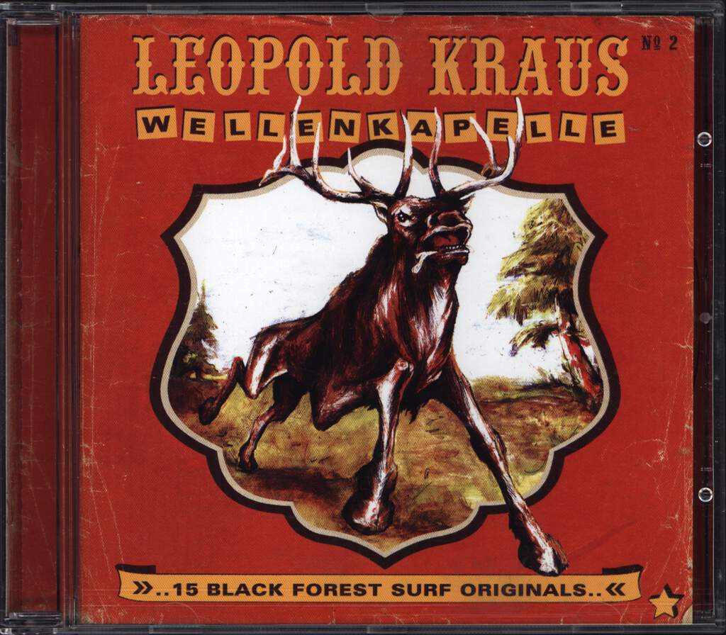 Leopold Kraus Wellenkapelle: 15 Black Forest Surf Originals.., CD