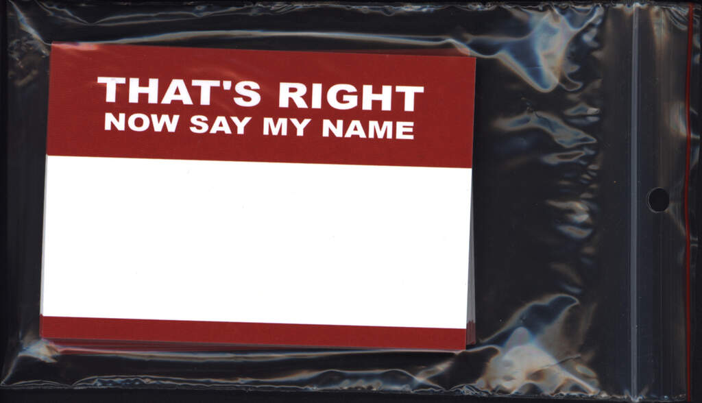 Sticker: That's Right - Now Say My Name (50 Stück), Other
