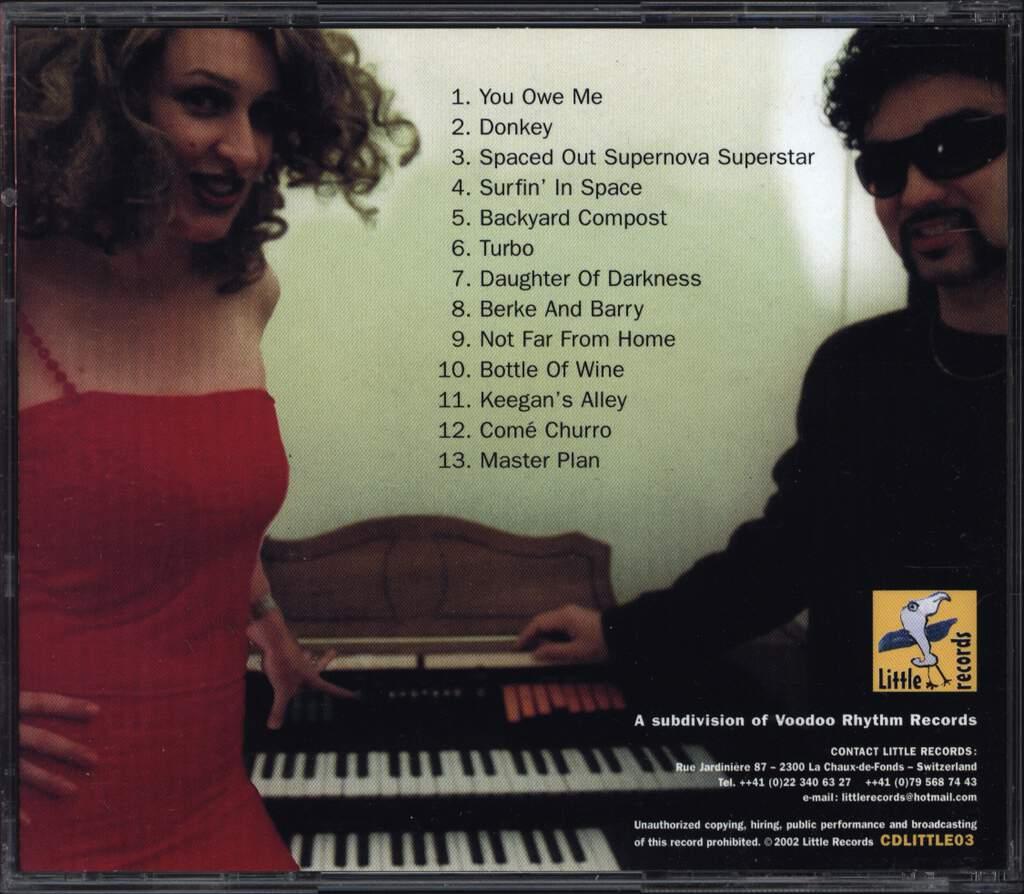 Bebe & Serge: Spaced Out Supernovasuperstar, CD
