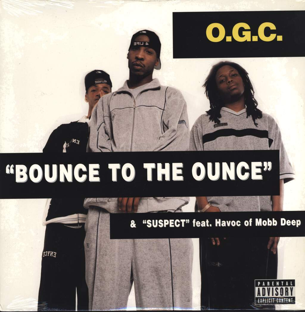 "O.G.C.: Bounce To The Ounce / Suspect, 12"" Maxi Single (Vinyl)"