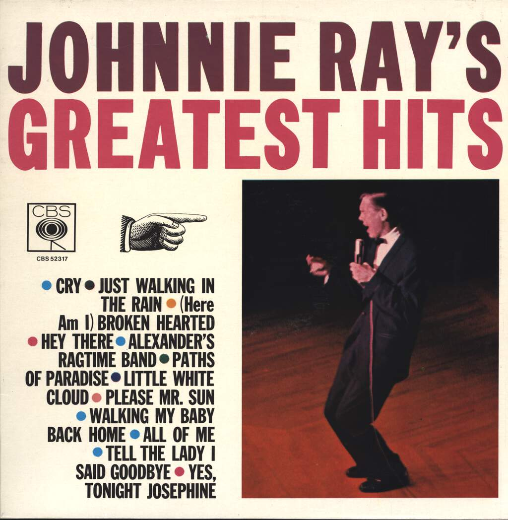 Johnnie Ray: Johnnie Ray's Greatest Hits, LP (Vinyl)