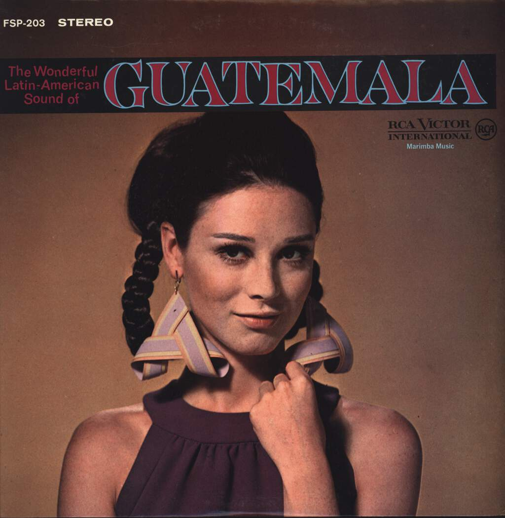 Maderas De Mi Tierra Orchestra: The Wonderful Latin-American Sound Of Guatemala, LP (Vinyl)
