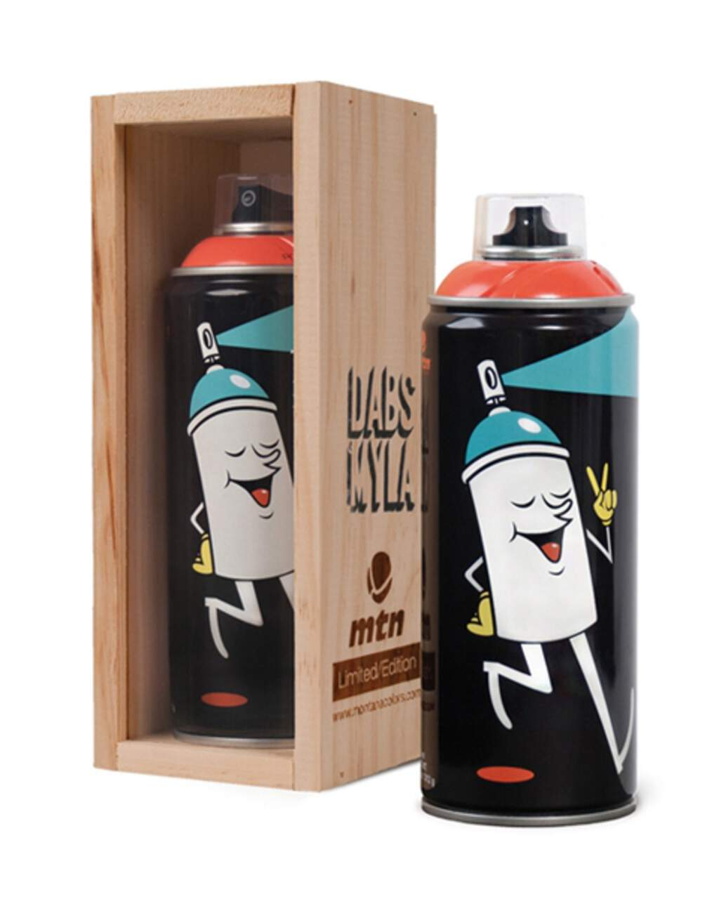 mtn: Dabs Myla Limited Edition Can 400ml, Spray Can