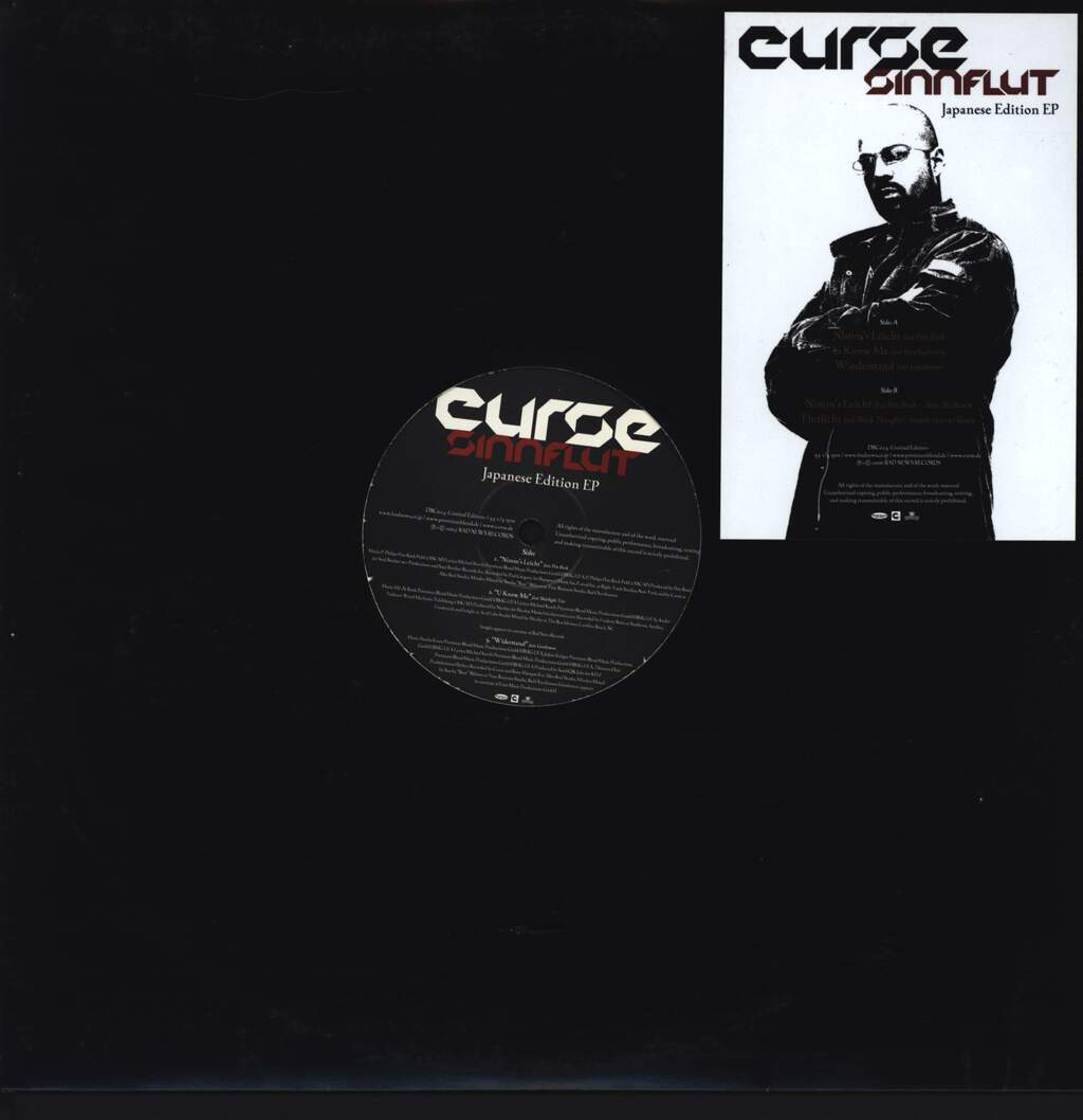 "Curse: Sinnflut - Japanese Edition EP, 12"" Maxi Single (Vinyl)"