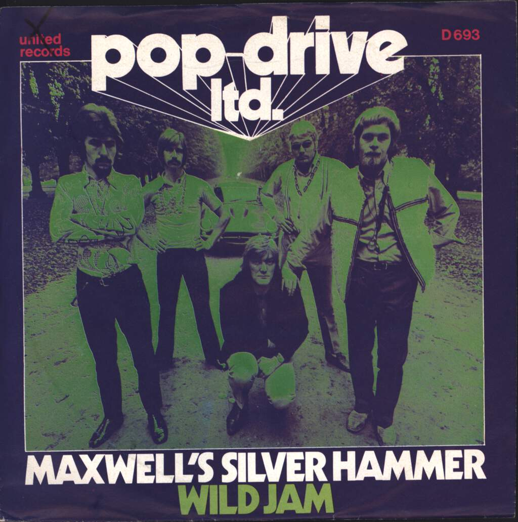"Pop Drive Ltd.: Maxwell's Silver Hammer, 7"" Single (Vinyl)"
