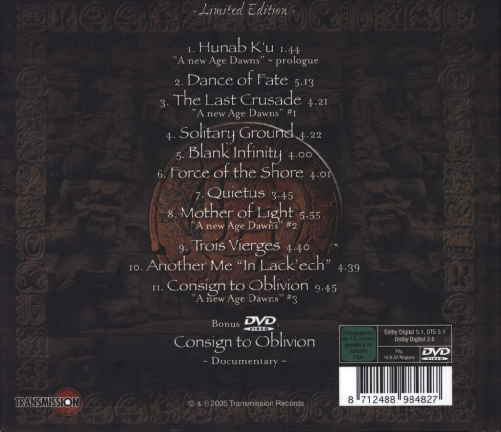 Epica: Consign To Oblivion, CD
