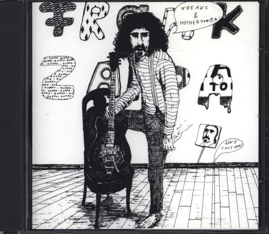 Frank Zappa: Freaks And Motherfu*#@%!, CD