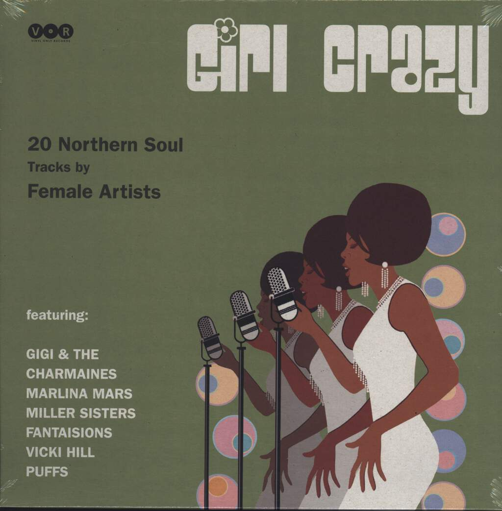 Various: Girl Crazy, 20 Northern Soul Tracks By Female Artists, LP (Vinyl)