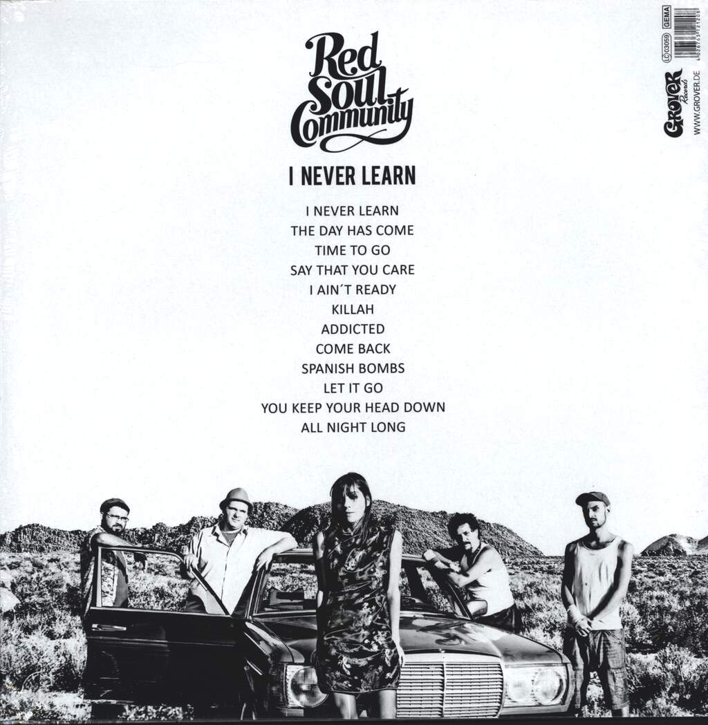 Red Soul Community: I Never Learn, LP (Vinyl)